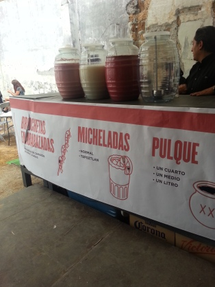 Pulque y micheladas