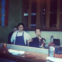 Chef Oscar Sánchez y chef invitada Lula Martín del Campo